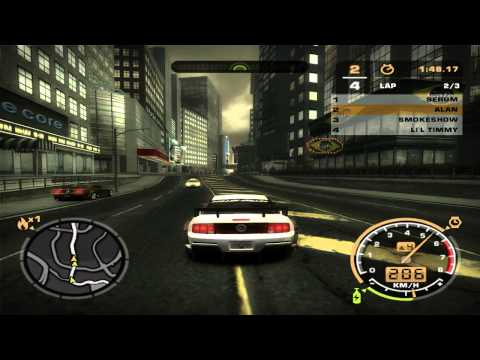 Need For Speed: Most Wanted (2005) - Race #60 - Century Square (Circuit)