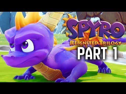 SPYRO REIGNITED TRILOGY Gameplay Walkthrough Part 1 - Artisans (Spyro The Dragon Remake)