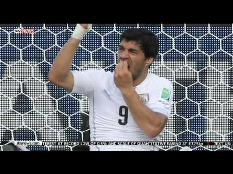 Suarez To Serve Ban After FIFA Reject Appeal