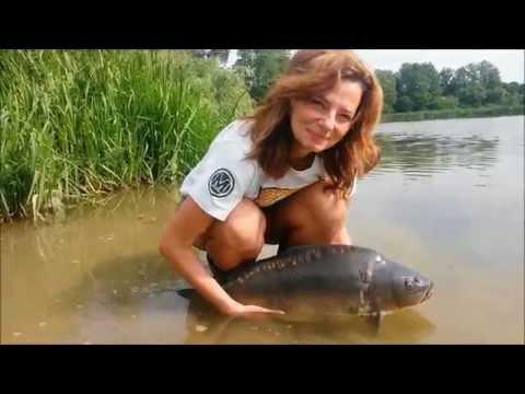 I holky to na rybách umí! Даже девушки могут ловить рыбу!