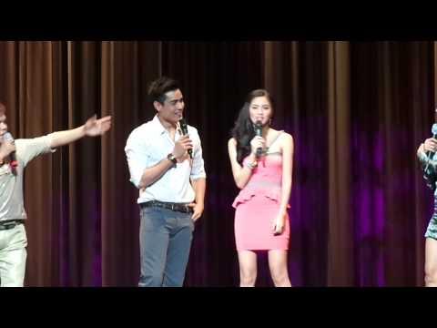 Kim & Xian Spiel w/ Pokie & Chokoleit @ Shrine Auditorium 11-3-2012