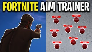 THE BEST FORTNITE AIM TRAINER (How To Setup Kovaak's Aim Trainer)