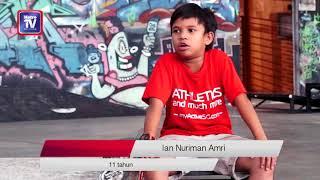 Nuriman, Finn, Ian & skateboard