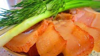 Вкусное и нежное свиное сало с мясной прослойкой от Едокoff
