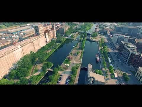 Montreal by Drone
