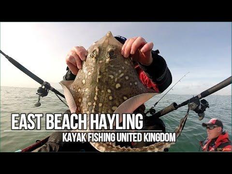 The Yakler Series - East Beach - Hayling Island - Kayak Fishing