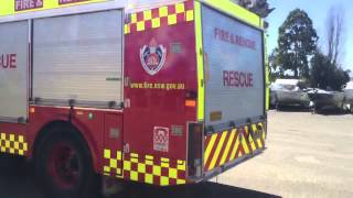 NSW Fire truck lucky spot!!