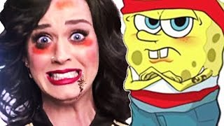 SPONGEBOB PICCHIA KATY PERRY - Gmod Funny Moments ITA (Scary Map)