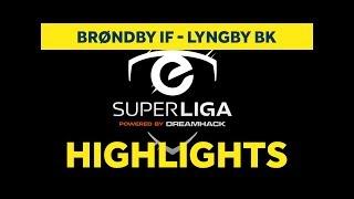 eSuperliga: Højdepunkter fra kvartfinalen mod Lyngby