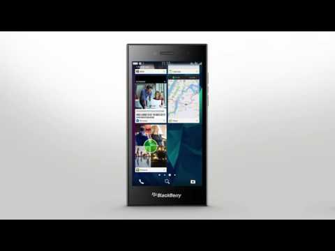 BlackBerry Leap - Getting Around The Smartphone Interface: Official How To Demo