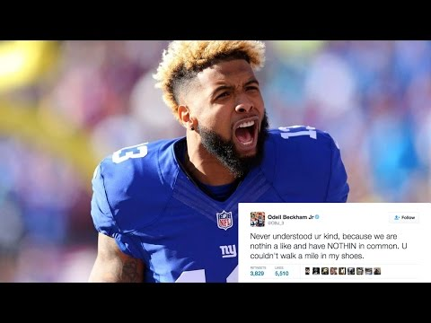 Odell Beckham Jr BLASTS Hater In New Twitter BEEF