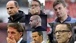 Trainer-Karussell in der Bundesliga: Schon 7 Coaches entlassen