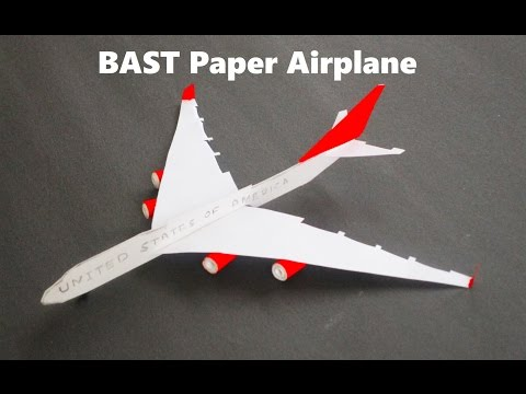 How To Make A Paper Airplane - Paper Airplanes