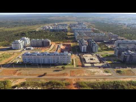 Aerial view of Noroeste neighborhood in the city of Brasilia, Brazil, May/2017