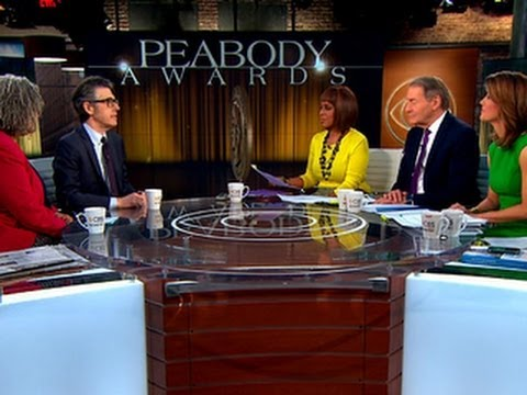 Who are the 2014 Peabody Awards winners?