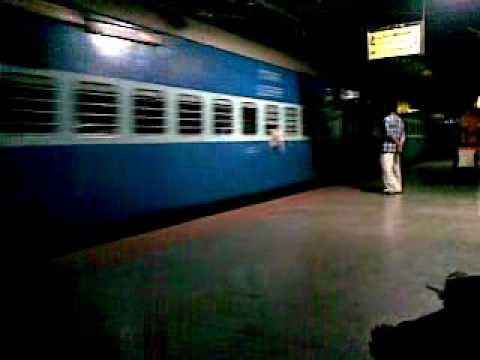 Calicut Railway Station announcement