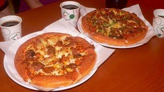 Napoli Pizza u0026 Fried Chicken(Huaxia Store)~Vegetarian Pizza,Kaohsiung,Taiwan 拿坡里披薩炸雞(高雄華夏店)~素食披薩