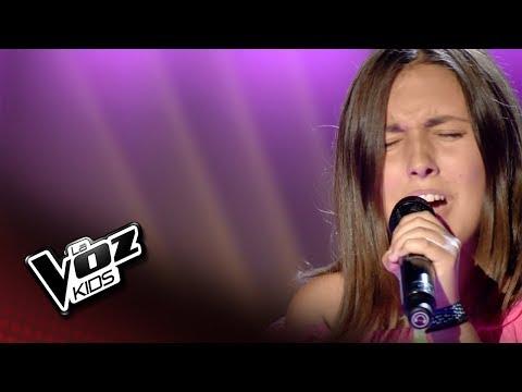 """Lucía Cozar: """"Por Fin"""" – Audiciones a Ciegas  - La Voz Kids 2018"""