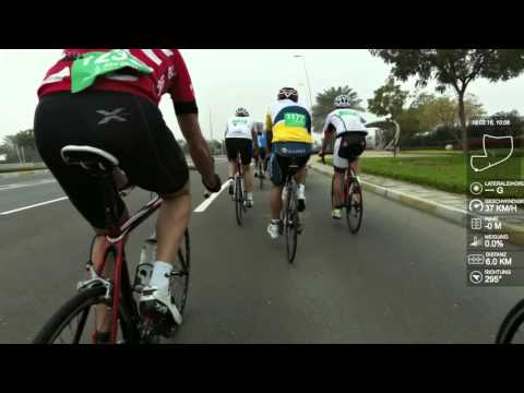 Yas Island Cycling Race