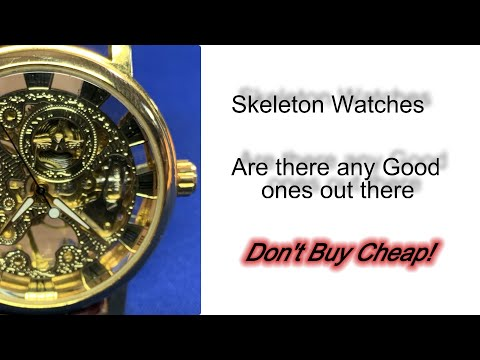 Skeleton Watches, Are They Any Good And Should You Buy One!