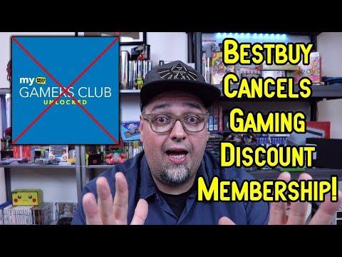 Best Buy Cancels Gamer's Club Unlocked Gaming Discount Membership!