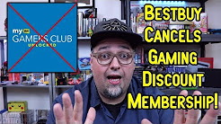 Best Buy Cancels Gamer's Club Unlocked Gaming Discount Membership! RANT!