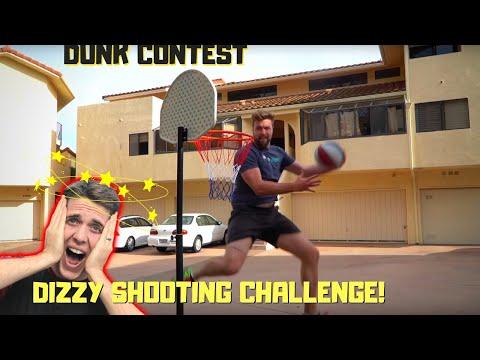 DIZZY BASKETBALL BATTLE w/ JOSH HORTON (bonus dunk contest)