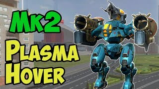 War Robots Best Mk2 Plasma Hover Robot Gameplay  - Live Stream Export