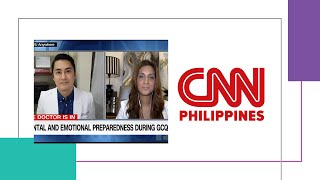 CNN Philippines: The Doctor is IN: Coping with the New Normal as an Ordinary Citizen