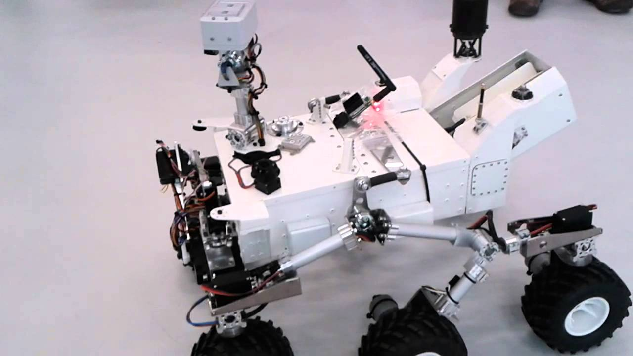 curiosity rover replica -#main