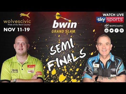 2017 Grand Slam of Darts Semi Final van Gerwen vs Taylor
