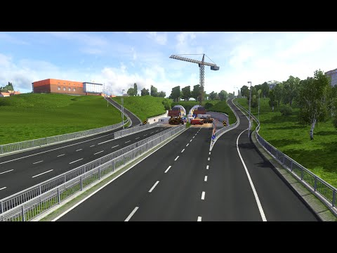 ETS2 Northern Scandinavia map beta v0.95 pre-release gameplay video