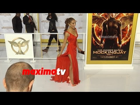 Meta Golding  The Hunger Games MOCKINGJAY PART 1 Los Angeles Premiere