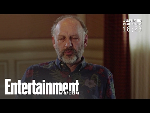 Nick Searcy Recaps 'Justified' In 30 Seconds  Entertainment Weekly