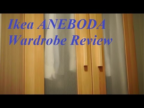 review ikea aneboda wardrobe youtube. Black Bedroom Furniture Sets. Home Design Ideas