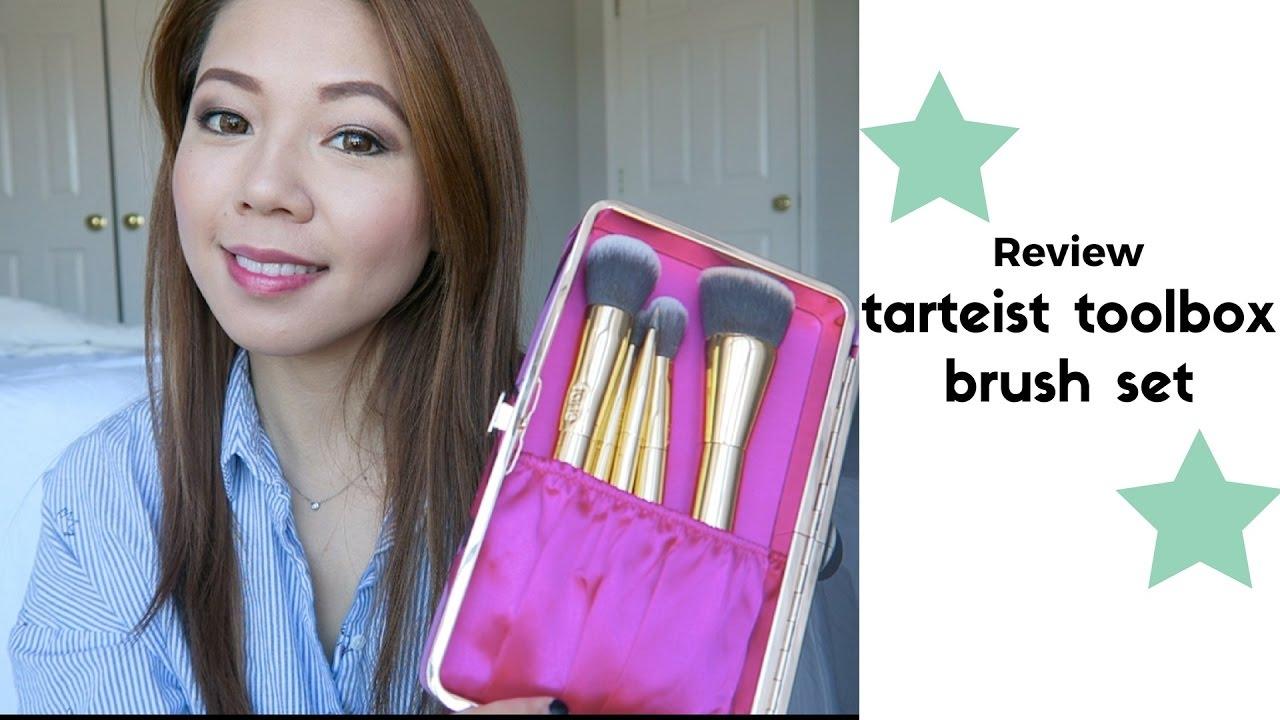 Tarte 化妆刷分享 Tarteist Toolbox Brush Set Review Youtube