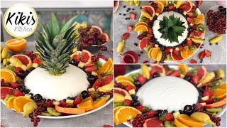 Joghurtbombe festlich dekoriert | Das perfekte Sommerdessert mit Joghurtmousse - Crowdfeeding