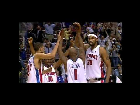 2004 NBA Playoffs: Detroit Pistons vs New Jersey Nets