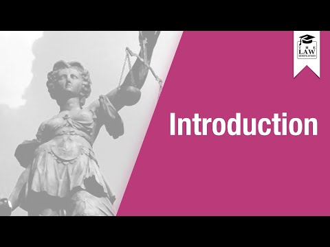 Constitutional Law - Introduction