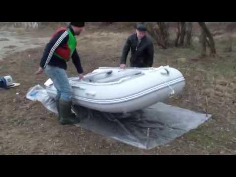 Сборка Лодки HDX Oxygen 330 + Ветерок 8М