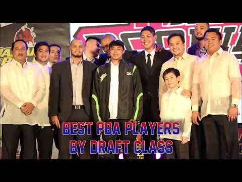 Best PBA Players By Draft Class (2000 - 2016)