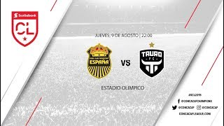 Real España vs Tauro FC