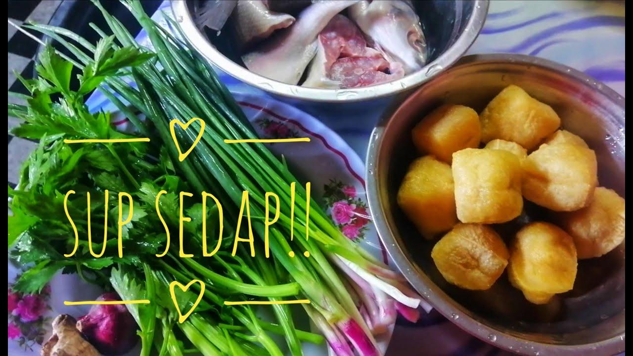 ikan bahulumudah  sedap masakan resepi simple youtube Resepi Sup Ikan Dowry Enak dan Mudah
