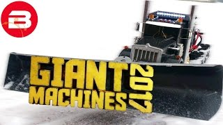Let's Play GIANT MACHINES 2017 - T-REX SNOW EATER!! (GIANT MACHINES GAMEPLAY)