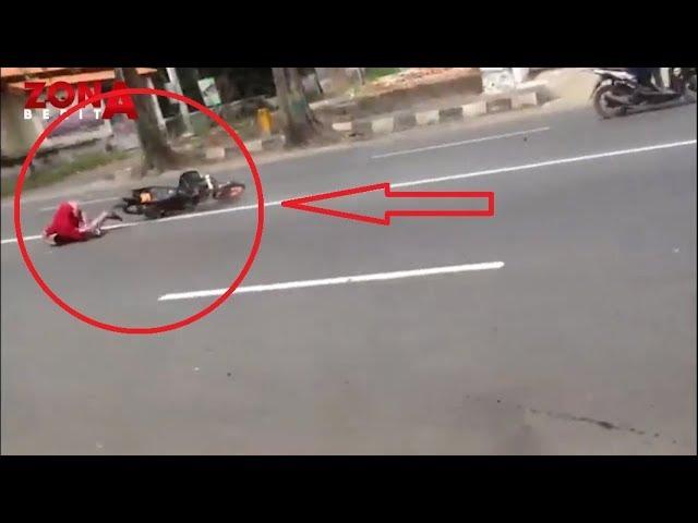 Yang Gak Kuat Jangan Lihat - Ngebut untuk Setting Motor Berujung Kecelakaan