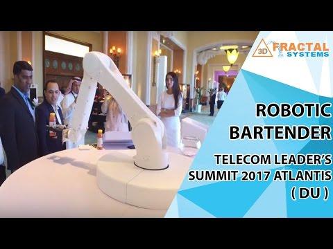 Robotic Bartender - Telecom Leaders' Summit 2017 Atlantis (DU)