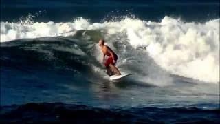 Longboard surf - Sunzal - El Salvador - 2012.wmv