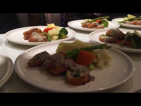 Fiamma Ristorante Woodbridge (preparing food for private eve