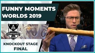 Funny Moments - Worlds 2019: Grand Finals