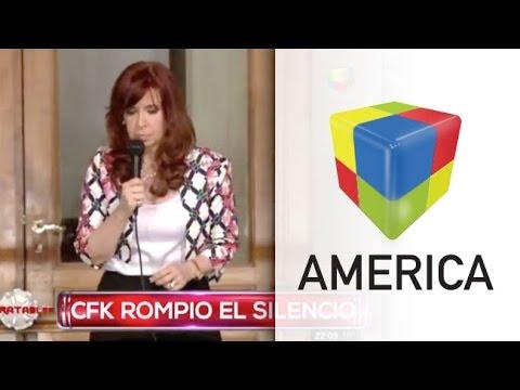 Tras el acto en Casa Rosada, la presidenta les habló a sus militantes
